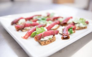 Bresaola on bread