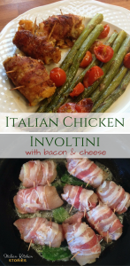 Italian chicken involtini