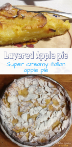 Layered Apple pie