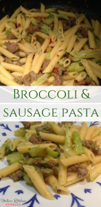 Broccoli & sausage pasta